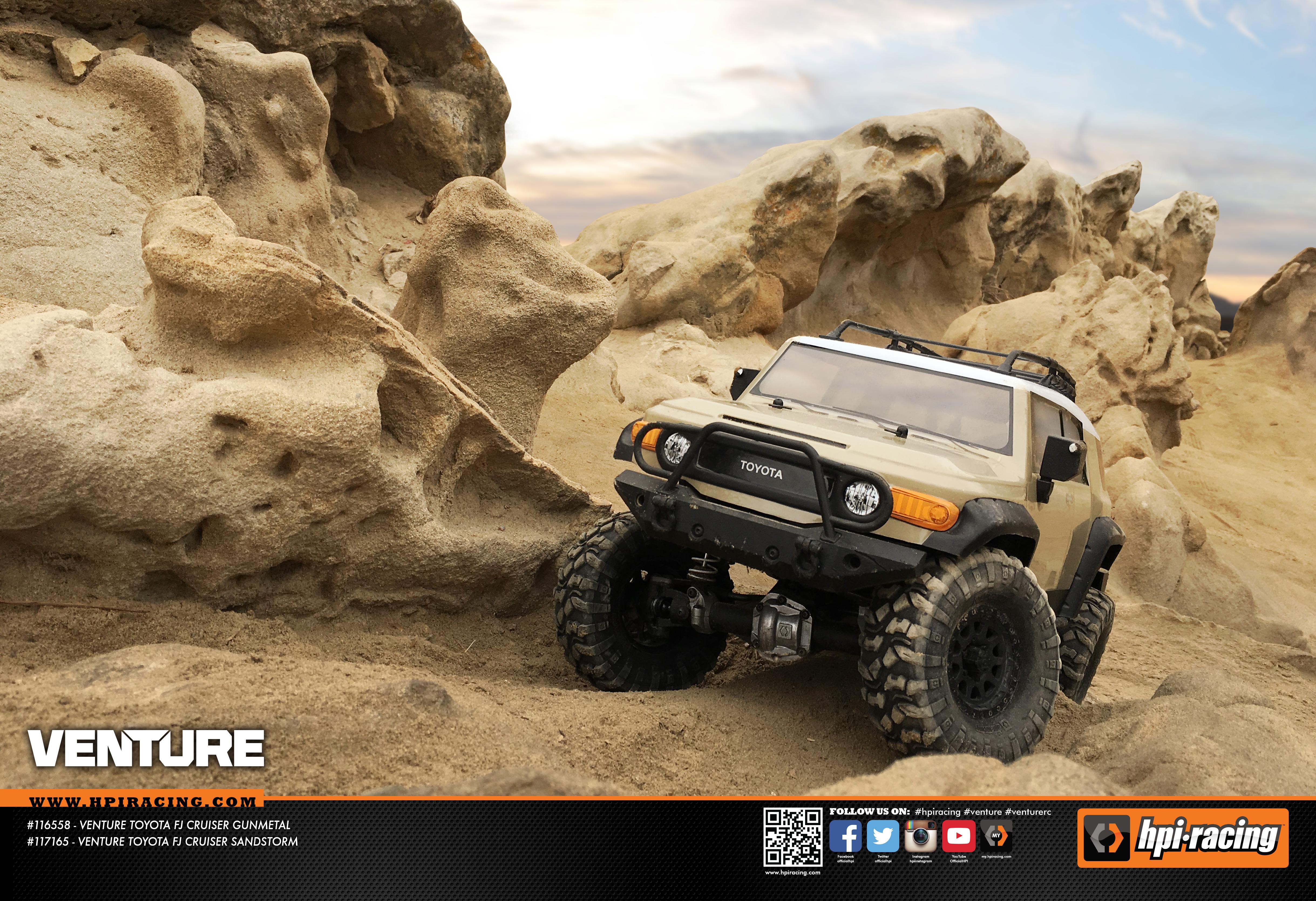 Venture FJ Cruiser Sandstorm Limestone Canyon