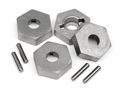 17MM HEX AND PIN SET (4pcs)