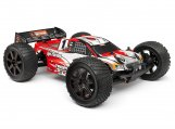 #101717 CLEAR TROPHY TRUGGY FLUX BODY W/WINDOW MASK/DECALS
