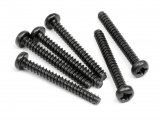 #102848 TP. BUTTON HEAD SCREW M3x25mm (6pcs)