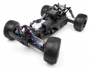 #10446 - NITRO RS4 MT 2 18SS+ KIT WITH DIRT FORCE TRUCK BODY (CLEAR)