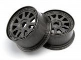 #104976 TR-10 WHEEL GUNMETAL (120x65mm/-10mm OFFSET)