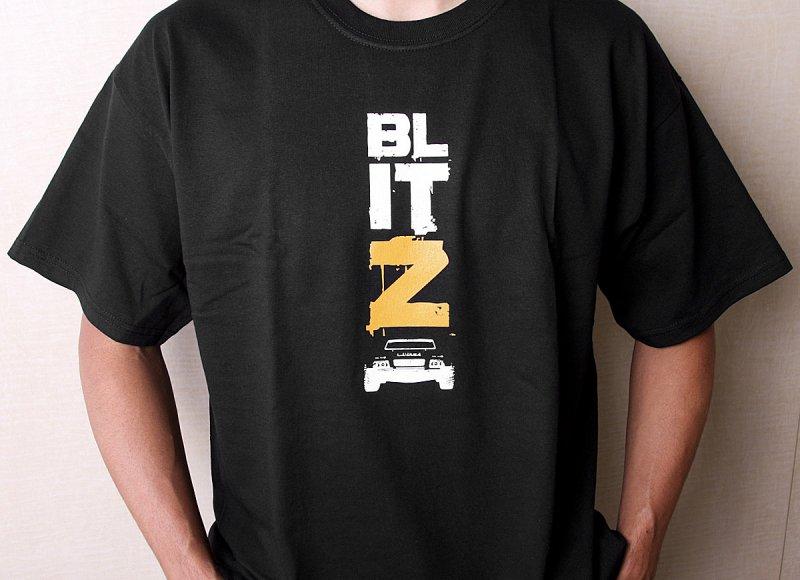 105192 hpi t shirt blitz black adult medium for Adult medium t shirt
