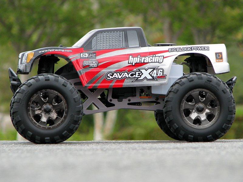 GENUINE NEW PART! HPI RACING SAVAGE X 4.6 GT-2 105532 GT-3 TRUCK BODY SAVAGE
