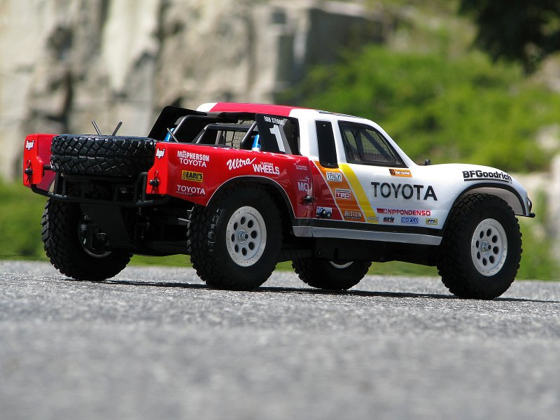 105721 1997 Toyota Ivan Stewart Race Truck