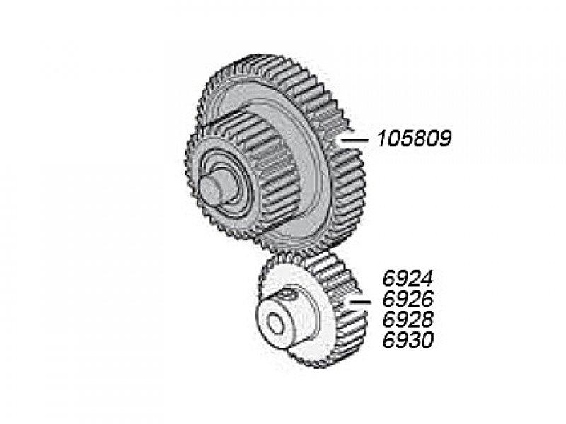 Getriebezahnrad 32Z-60Z 105809 Savage XS