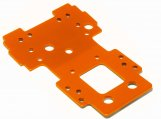 #105892 UNTERE BULKHEAD PLATTE 2.5mm (ORANGE/SAVAGE X)