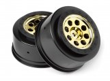 #106192 MK.8 V2 WHEEL GOLD (4.5mm OFFSET/2pcs)