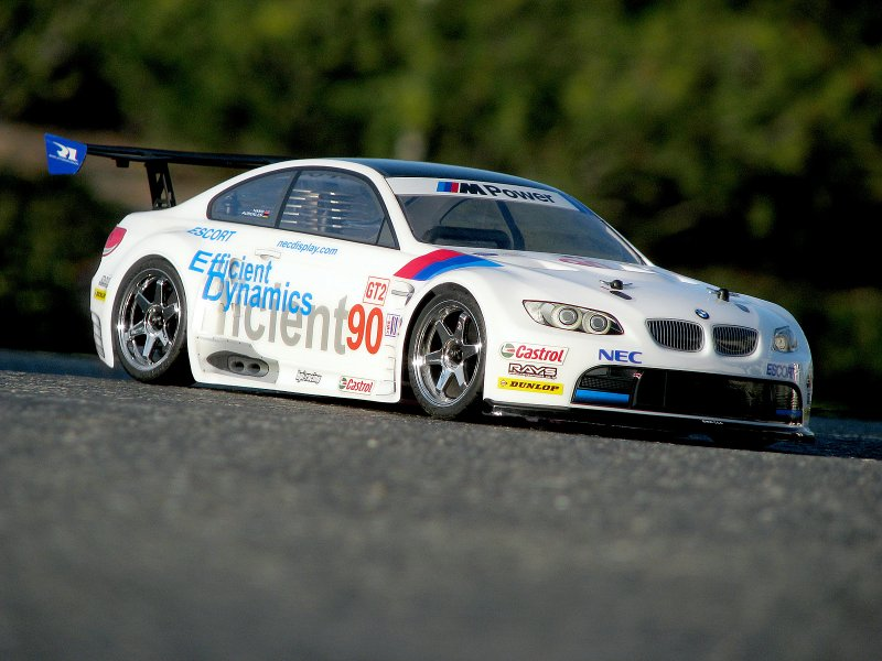 106976 Bmw M3 Gt2 Body Painted White 200mm