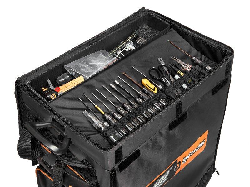 107244 Hpi Hb Hauler Bag 5 Drawers Black