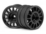 #107970 WR8 RALLY OFF-ROAD WHEEL BLACK (48x33mm/2pcs)