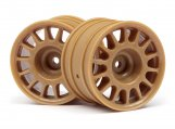 #107971 WR8 RALLY OFF-ROAD WHEEL BRONZE (48x33mm/2pcs)