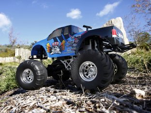 #10864 - RTR NITRO MONSTER KING 4x4 TRUCK NS W/ NWK-1 BODY