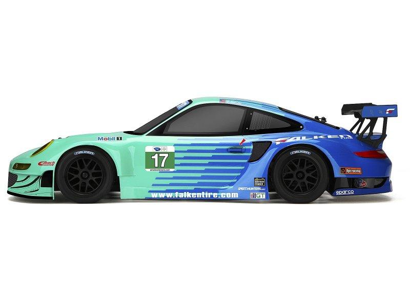 109760 Porsche Falken 911 Gt3 Rsr Painted Body 206mm 210mm