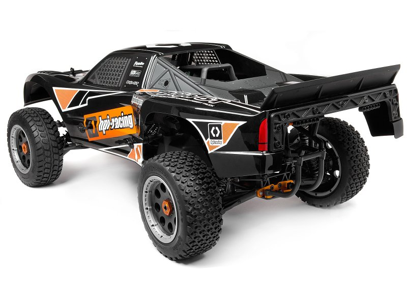 110677 Baja 5t 1 Truck Painted Body Black