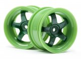 #111090 WORK MEISTER S1 WHEEL GREEN 26mm (3mm OS/2pcs)