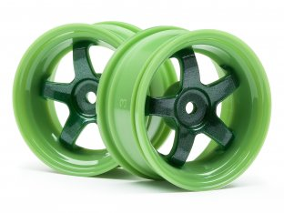 #111090 - WORK MEISTER S1 WHEEL GREEN 26mm (3mm OS/2pcs)