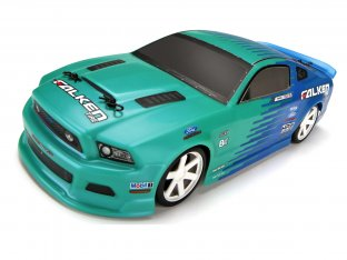 #111230 - Falken 2013 Ford Mustang Micro RS4 Drift RTR