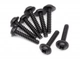 #111298 TP. FLANGED SCREW M3X15MM (8PCS)