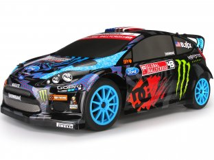 #112715 - WR8 RTR WITH 2013 KB MONSTER FIESTA BODY