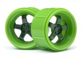 #112817 WORK MEISTER S1 WHEEL GREEN (MICRO RS4/4PCS)