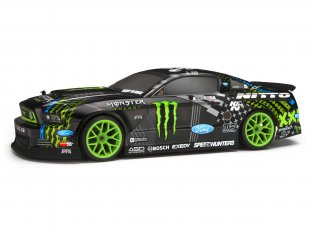 #113085 - 2013 FORD MUSTANG VAUGHN/MONSTER/NITTO PAINTED BODY (200MM)