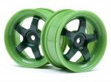 #113095 WORK MEISTER S1 WHEEL GREEN 26mm (0mm OS/2pcs)