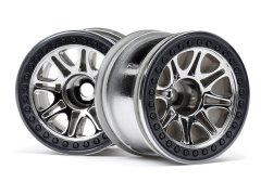 SPLIT 8 TRUCK WHEEL (CHROME/2PCS)
