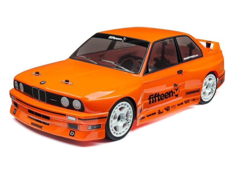 #114645 BMW M3 E30 BODY (PAINTED/ORANGE/200mm)