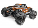 #115508 Trimmed & Painted Bullet 3.0 MT Body (Black) w/Decals