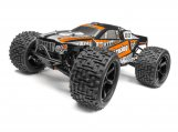 #115509 Trimmed & Painted Bullet Flux ST Body (Black) w/Decals