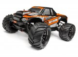 #115510 Trimmed & Painted Bullet Flux MT Body (Black) w/Decals