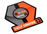 #115769 HPI HELP CENTER SHOP WINDOW STICKER