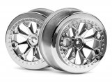 #116739 8-SHOT SC WHEEL (CHROME/2PCS)