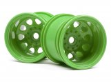 #120039 CLASSIC KING WHEEL GREEN (2.2IN/2PCS)