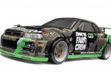 #120101 MICRO RS4 DRIFT FAIL CREW NISSAN SKYLINE R34 GT-R