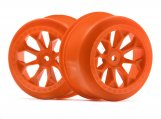 #120134 8-SHOT SC WHEEL (ORANGE/2PCS)