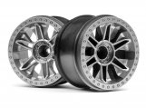 #120136 6-SHOT ST WHEEL (SILVER/2PCS)
