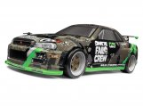 #120166 FAIL CREW NISSAN SKYLINE R34 GT-R PRINTED BODY (150MM)