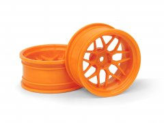 TECH 7 WHEEL ORANGE (9MM/2PCS)