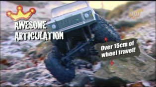 HPI TV Videos: Crawler King takes on Black Rock!!