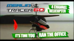 HPI TV Videos: Merlin Tracer 60 - Office Assault!