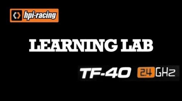 HPI TV Videos: HPI Learning Lab - RF40
