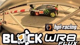 HPI TV Video: The Ken Block WR8 FLUX in action at HPI Europe!
