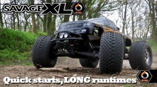 HPI TV Video: Savage XL Octane Part 1: Quick starts & LONG Runtimes