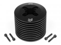 ALUMINUM HEATSINK HEAD (BLACK/F3.5)