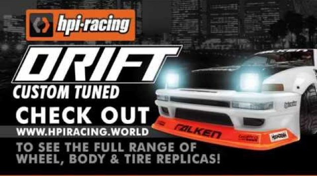 HPI TV Video: HPI Racing - DRIFT : Custom Tuned!