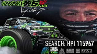 HPI TV Video: Savage XS FunHaver in ⚡️ ACTION ⚡️ with Vaughn Gittin Jr.