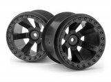 "#150160 Quantum MT 2.8"" Wheel (Black/2pcs)"