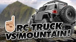 HPI TV Vidéos: Driving an RC Truck up a Mountain ⛰